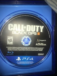 Call of Duty Black Ops 3 PS4 game disc Miami, 33138