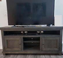 "64"" TV Stand with 55"" Samsung Smart TV"