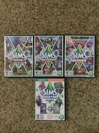 Sims 3 base game & expansions package Ocala, 34471