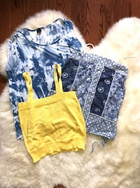 Sleeveless summer tops