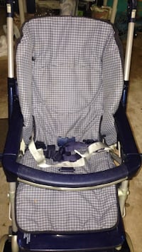 Baby's blue and white peg prego stroller with sun roof Fairfax, 22033