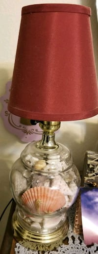 Seashell Handmade desktop lamp Lakeside, 92040