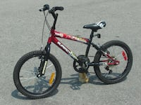 """OUTGROWN NOW ALMOST NEW BOYS 18"""" SUPERCYCLE MTB 5 SPEEDS WITH SUSPENSION. Mississauga"""