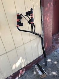 Graver bike rack with New Hitch