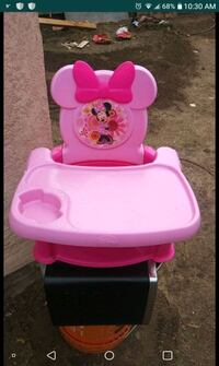 baby's pink and white highchair Modesto, 95358
