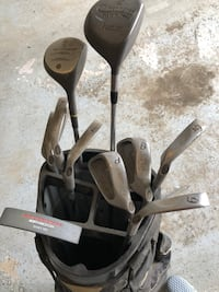 Set of golf clubs and bag Antioch, 60002