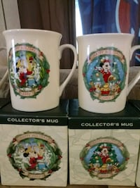 Disney Collector's mugs