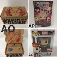 Women of Power Collector Corps Box  Mississauga, L4W 5N2