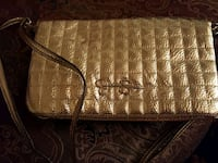 brown and leather Jessica simson wristlet Las Vegas, 89123