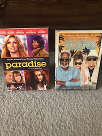2 Comedy DVD's ...Paradise & Just Getting Started  Both for $3.50 Collegeville, 19426