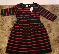 black and red striped polo shirt Laredo, 78046