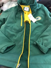Green Bay packers full zip up new with tag still on size L great condition ! St. Louis Park, 55416