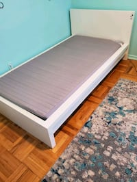 IKEA Twin bed frame with mattress Toronto, M8Y 1W9