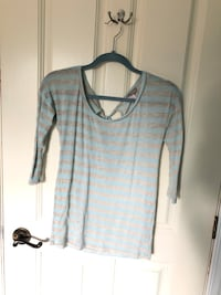 Blue striped top Beaconsfield
