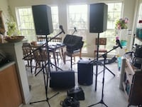 PA system/ dj, sound equipment for any event  Sykesville