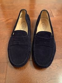 Blue suede tods 7.5