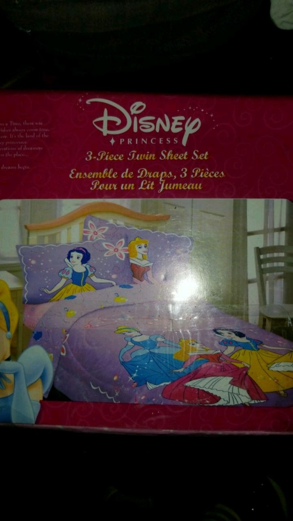 Used Brand New Princess Twin Sheet Set For Sale In Surrey Letgo