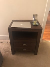 WOOD BEDSIDE TABLE NEED GONE BY TODAY OR TOMORROW  19 mi