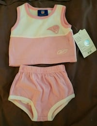 Vintage Reebok pink Rams outfit 6 to 9 months St. Peters, 63376