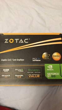 Zotac Geoforce Graphics Card 3725 km