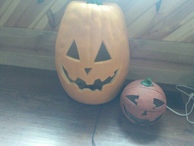 Jack-O-Lantern decors, used for sale  Streator