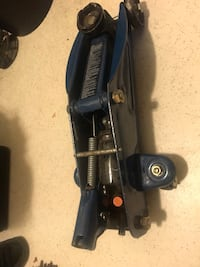 black and gray upright vacuum cleaner 3748 km