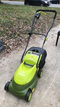 green and black push mower Bethesda, 20816