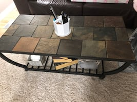 Tile coffee table