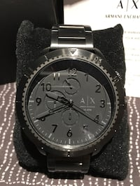 Armani Exchange Black Men's Watch - Brand New  Richmond Hill, L4C 1W3