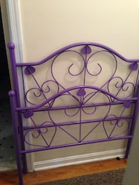 Purple Twin Headboard 44 km
