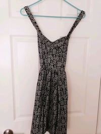 Woman cloth black dress 1x forever 21