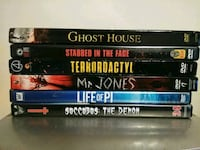 Horror & Action Movies for Sale 568 mi
