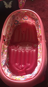 Portable inflatable baby bath excellent condition Waldorf, 20601