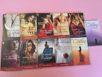 New 11 Novel Books Adventures&Passion Series, in French