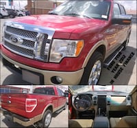 Ford - F-150 LARIAT - 2012 enganche $ 3000 Porter, 77365