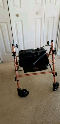 black and gray rollator walker West Springfield, 22152