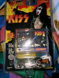 Kiss. Gene simmons diecast car..