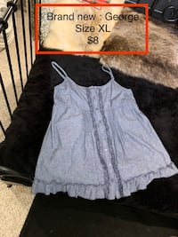 4 different tops size XL from $5 - $10