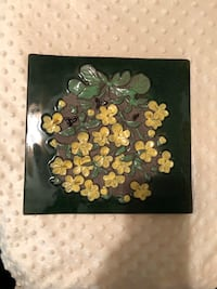 Vintage JIE, Swedish, wall tile Gold River, 95670