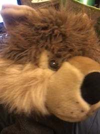brown and white dog plush toy Surrey, V4N 1W2