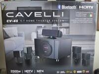 Cavelli CV-45 home theater system in mint condition.
