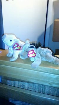 Ty beanie babies horse and pig