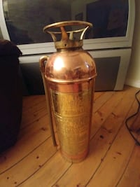 Antique Pyrene Brass Fire Extinguisher Roseneath, K0K 2X0