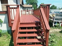 Deck repair Foreston, 56330