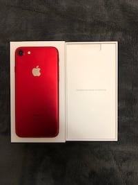 Product Red iPhone 7—READ INFO!! Toronto, M5T 1G8