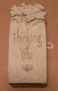 Thinking of You stone plaque