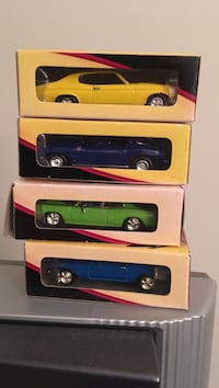 Assorted color muscle car diecast scale model Winchester, 22601