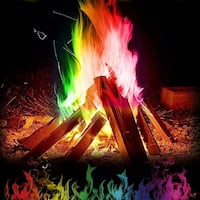 Multicolor Flame Powder Flame Dyeing Outdoor Bonfire Party Suppl Magic Kits & Accessories  Palm Coast