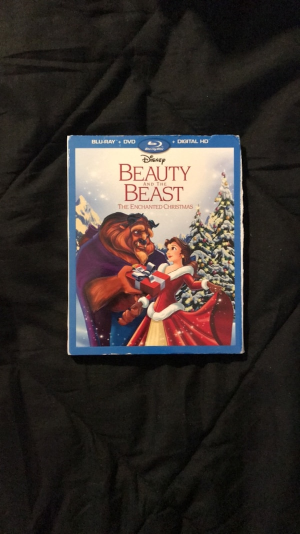 Disney's Beauty and the Beast The Enchanted Christmas blu ray