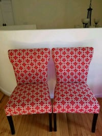 Accent chairs pair  Rockville, 20854